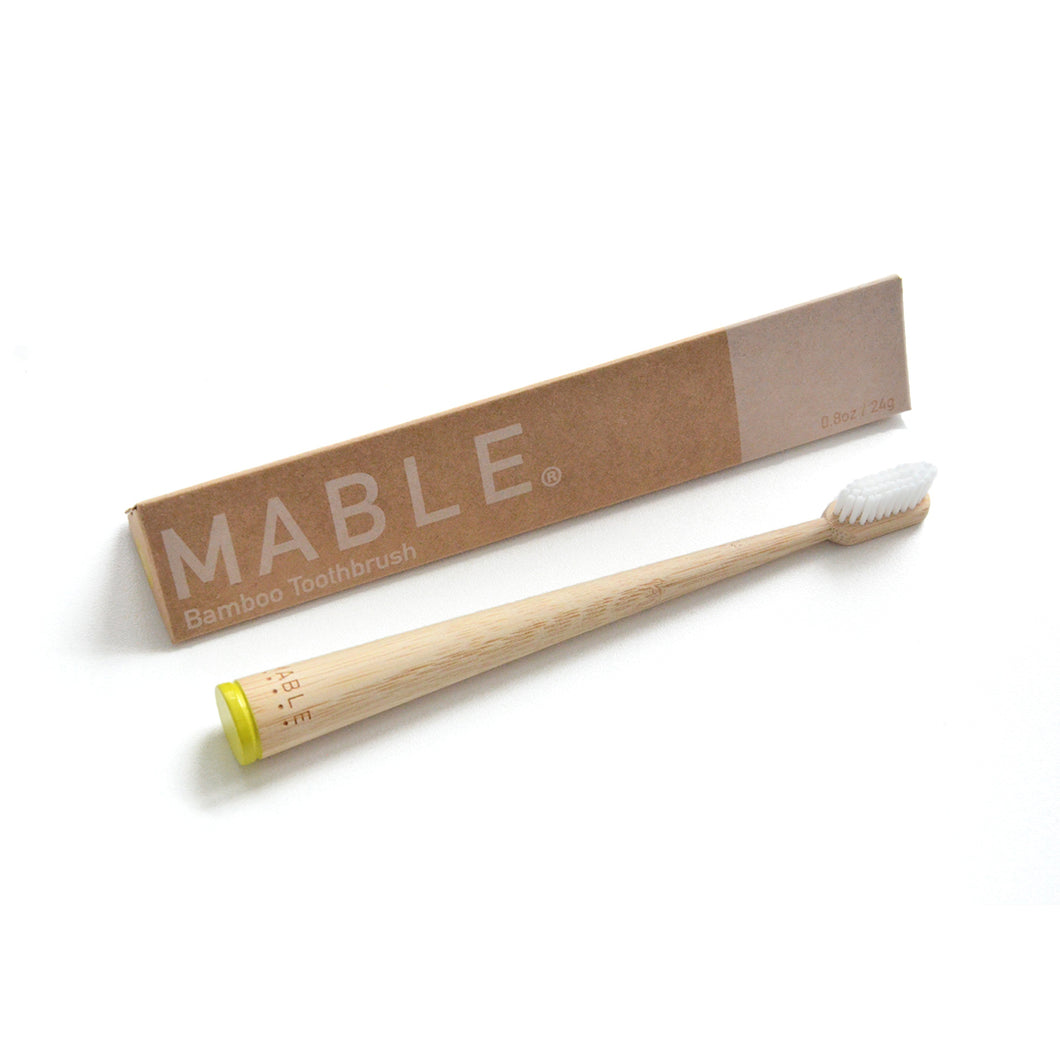 Self Standing Bamboo Toothbrush