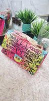 Pretty Graffiti Bag