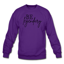 Load image into Gallery viewer, Be Legendary Sweatshirt - purple