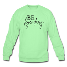 Load image into Gallery viewer, Be Legendary Sweatshirt - lime