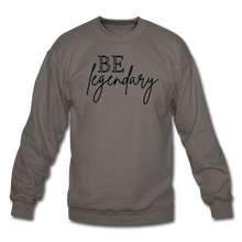 Load image into Gallery viewer, Be Legendary Sweatshirt - asphalt gray