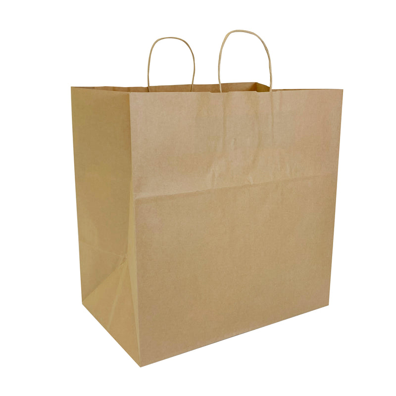 Kraft Paper Shopping Bag shoppaperbags.com