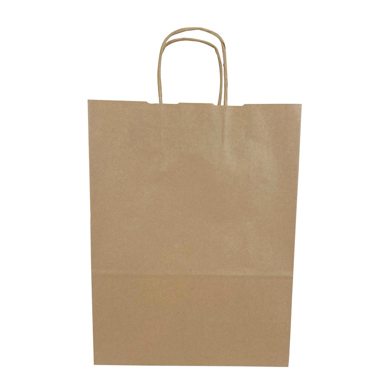 ELLA Kraft Paper Shopping Bag shoppaperbags.com