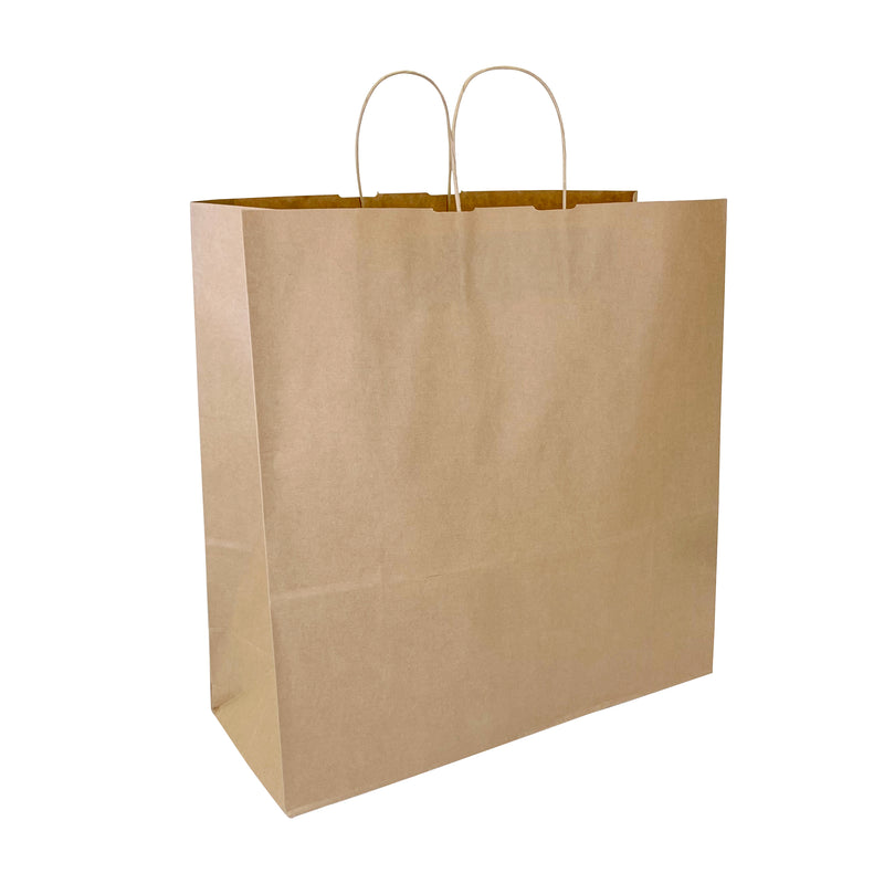 NINA Kraft Paper Shopping Bag shoppaperbags.com