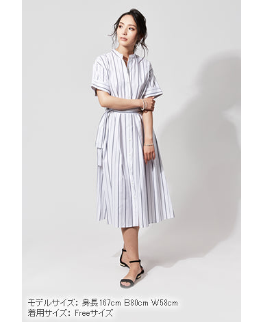 WOMEN MIDI DRESS Typewriter