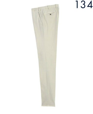 COTTON WOOL TROUSERS Made in Italy