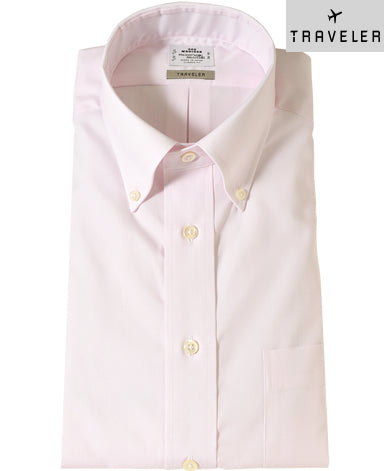 TOKYO CLASSIC FIT - TRAVELER Button Down Pinpoint Oxford