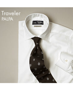 TOKYO SLIM FIT- TRAVELER Spread Pinpoint Oxford PALPA
