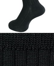Load image into Gallery viewer, COTTON STRETCH SOCKS Charcoal Gray Longhose