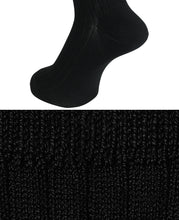 Load image into Gallery viewer, COTTON STRETCH SOCKS Black Longhose