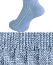 Load image into Gallery viewer, COTTON STRETCH SOCKS Blue Longhose
