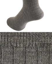 Load image into Gallery viewer, Wool Stretch Socks Taupe Longhose