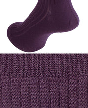 Load image into Gallery viewer, KNEE HIGH SOCKS - Cotton Cashmere High Gauge