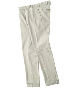 COTTON STREATH TROUSERS  Made in Italy