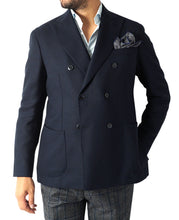 Load image into Gallery viewer, ITALIAN WOOL JACKET Double-Breasted