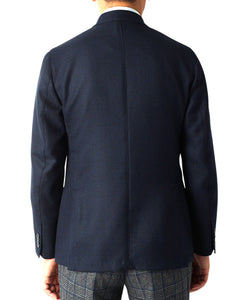 ITALIAN WOOL JACKET Double-Breasted