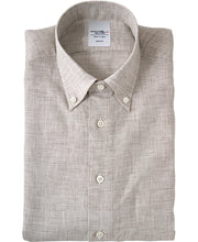 Load image into Gallery viewer, LINEN SHIRT - NEW YORK FIT Button Down Linen