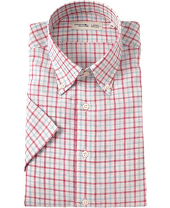 Short Sleeve Shirt Button Down Linen