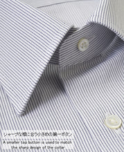 Load image into Gallery viewer, TOKYO SLIM FIT Semi-spread Pinpoint Oxford