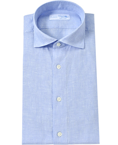 NEW YORK FIT-LINEN SHIRT Spread Linen