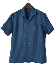 Load image into Gallery viewer, Short Sleeve Shirt - CASUAL Open-collar Linen