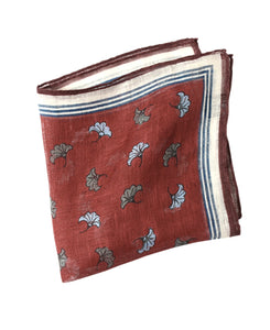 LINEN POCKET SQUARE Made in Italy