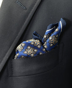 SILK POCKET SQUARE Made in Italy