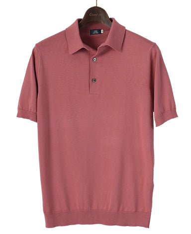 SUVIN 30G KNIT POLO SHIRT Spread