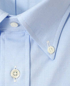 Short Sleeve Shirt Button Down Pinpoint Oxford