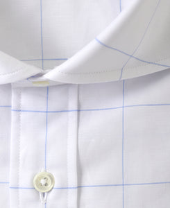 Short Sleeve Shirt Cutaway Cotton Linen