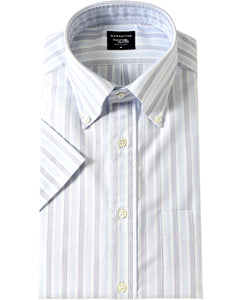 Short Sleeve Shirt Button Down Oxford