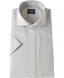 Short Sleeve Shirt Cutaway Broadcloth