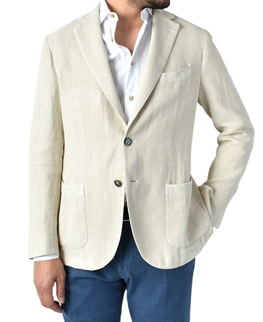 ITALIAN COTTON LINEN JACKET