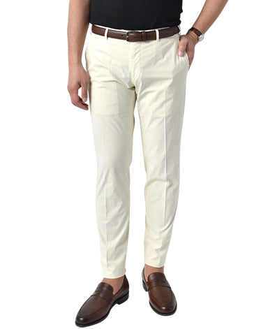 ITALIAN COTTON TROUSERS