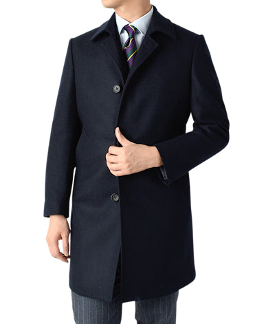 Stainless Collar Coat (Wool X Cashmere)