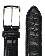 Load image into Gallery viewer, CROCODILE LEATHER BELT