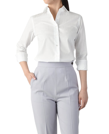 WOMEN CLASSIC FIT - TRAVELER SMART CLOTH Dobby