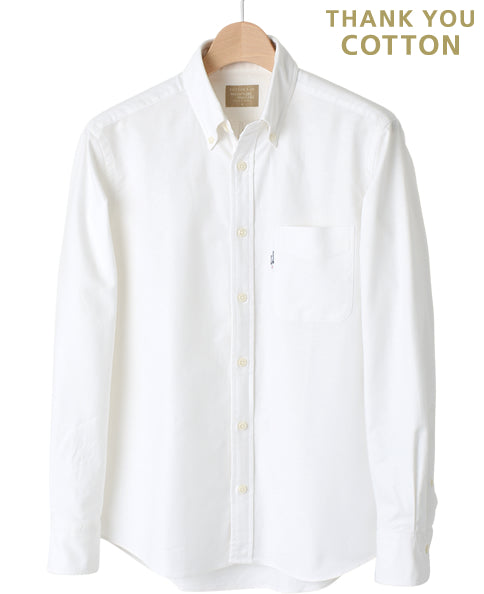 メンズ プレミアムCotton -  Button Down Oxford Oxford Oxford