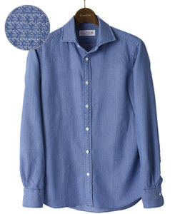 134 CASUAL SHIRT - UNTUCKED Spread Denim