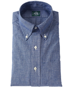 東京修身版-SPORT Button Down Chambray