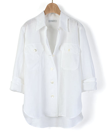 WOMEN'S CASUAL - Short Sleeve Linen