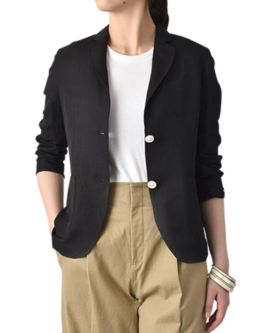 WOMEN SHIRT JACKET - TRAVELER Linen Blend Twill
