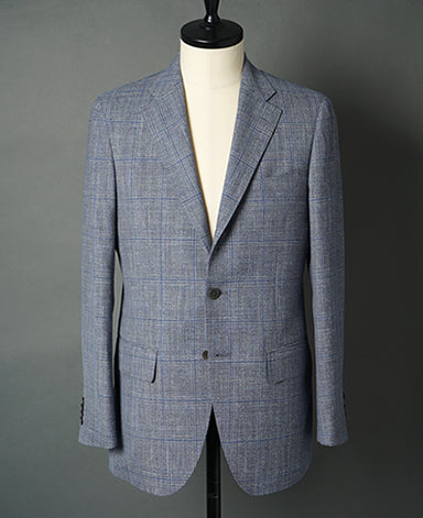 WOOL SILK LINEN JACKET Luxury|LORO PIANA
