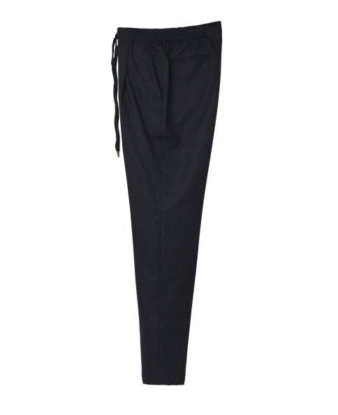 DRAWSTRING TROUSERS SINGLE PLEATED
