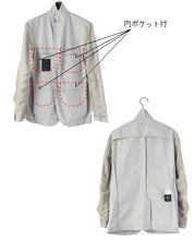 Load image into Gallery viewer, HIGH DENSITY / WATER REPELLENT TAILORED JACKET