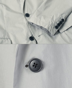 HIGH DENSITY / WATER REPELLENT TAILORED JACKET
