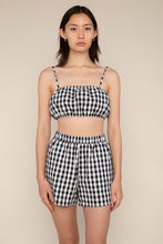 Load image into Gallery viewer, gingham bralette
