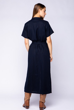 Load image into Gallery viewer, linen midi dress