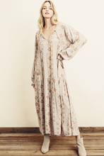 Load image into Gallery viewer, dress forum florce boho tiered maxi dress