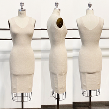 Load image into Gallery viewer, knit basic midi tank dress